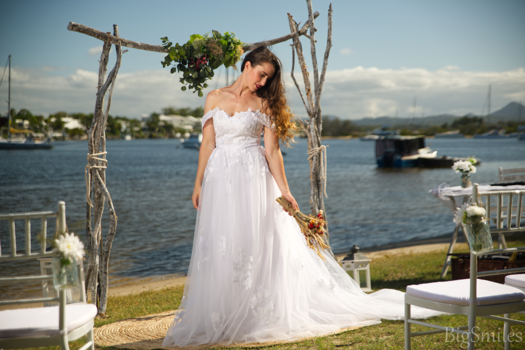 lorie lace wedding dress